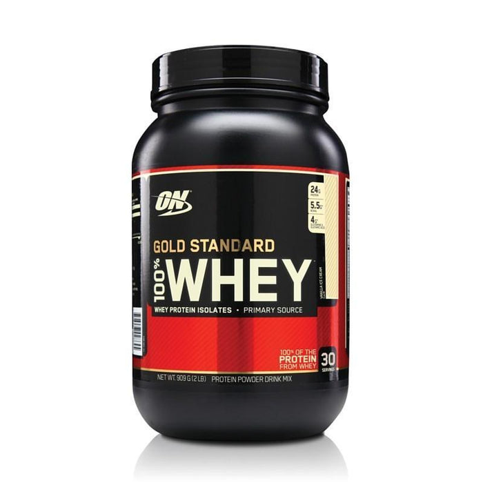 Optimum Nutrition Optimum Nutrition 100% Gold Standard Whey 908g / Vanilla Ice Cream Whey Protein The Good Life