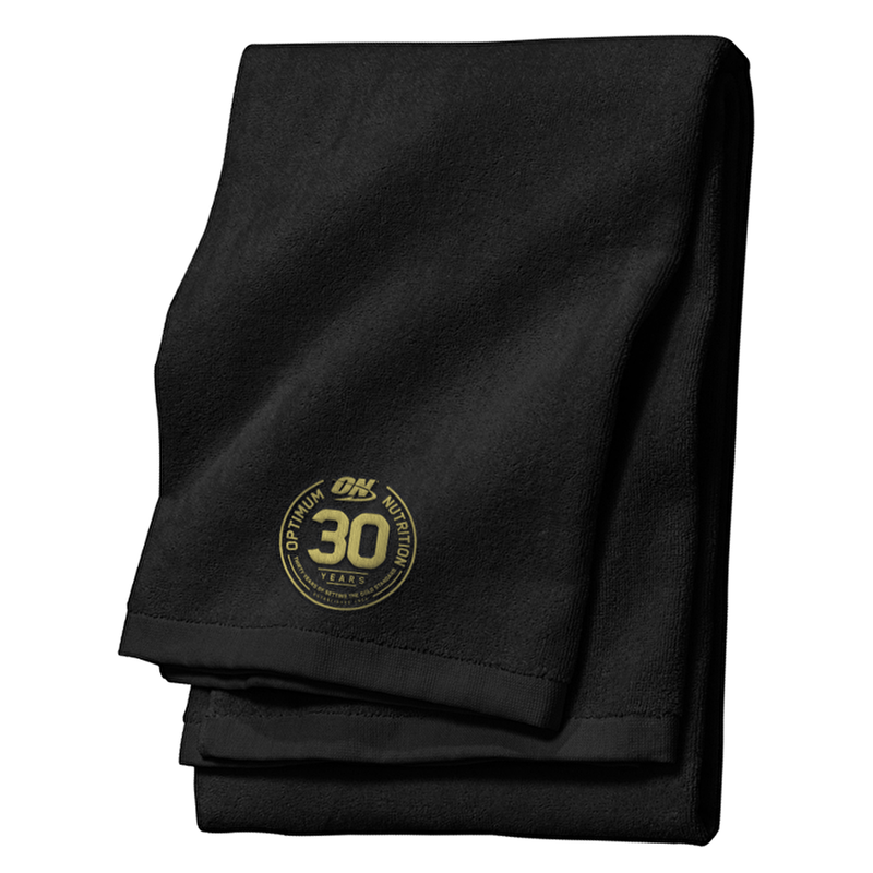 Optimum Nutrition Optimum Nutrition 30 Year Gym Towel Towel The Good Life