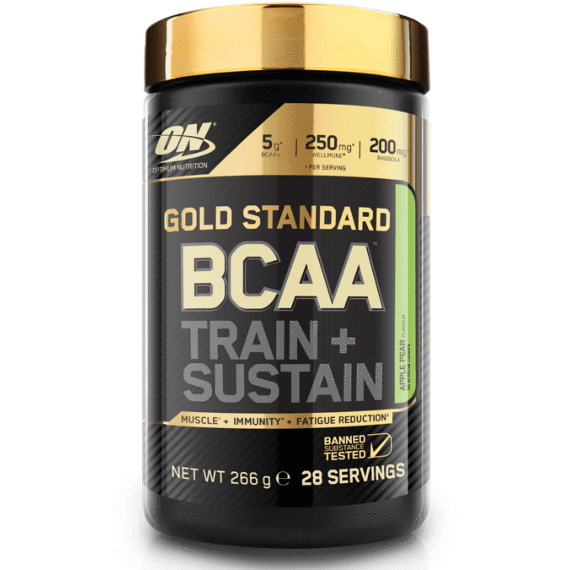 Optimum Nutrition Optimum Nutrition Gold Standard BCAA 266g / Peach Passion Fruit BCAA The Good Life
