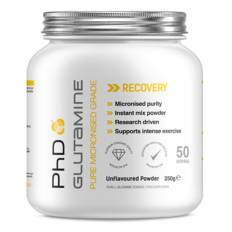 PhD PhD Micronised Glutamine Glutamine The Good Life