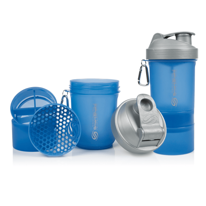 SmartShake SmartShake 400ml 400ml / Blue & Silver Shaker Shaker The Good Life