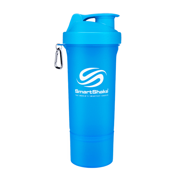 SmartShake SmartShake Slim 500ml 500ml / Blue Shaker The Good Life