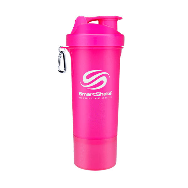 SmartShake SmartShake Slim 500ml 500ml / Pink Shaker The Good Life