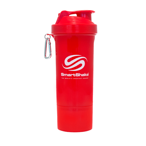 SmartShake SmartShake Slim 500ml 500ml / Red Shaker The Good Life