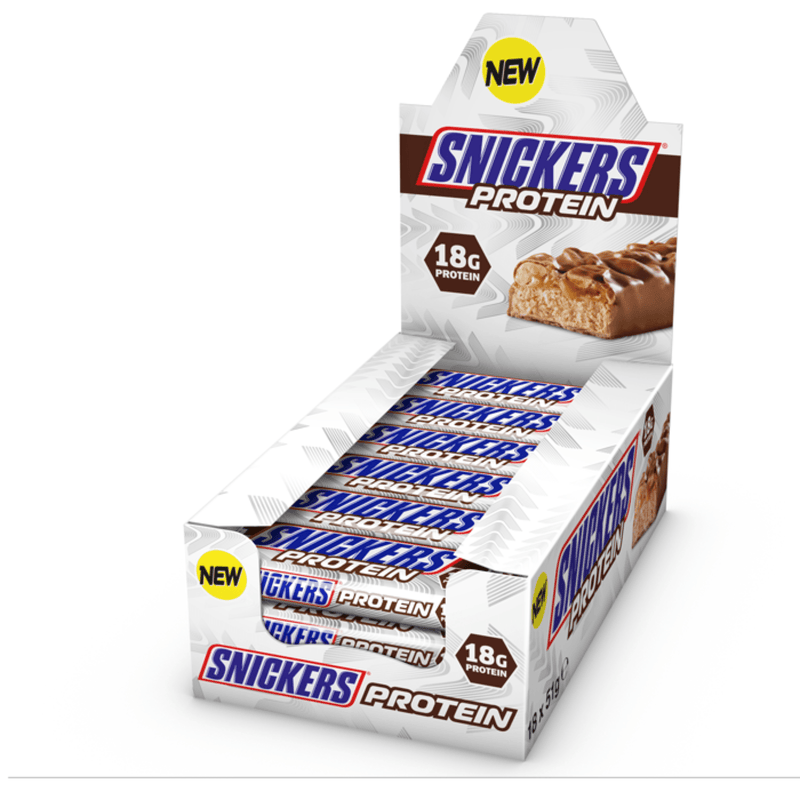 Snickers Snickers Protein Bar 18x51g / Chocolate Peanut Protein Bars The Good Life