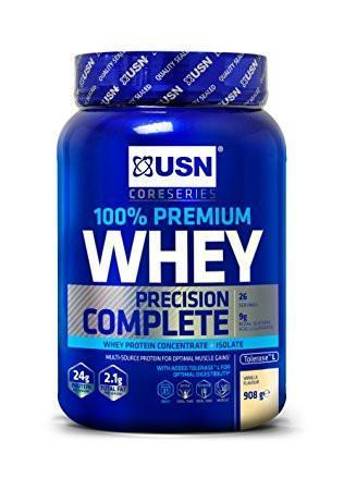 USN USN 100% Premium Whey 908g / Raspberry Whey Protein The Good Life