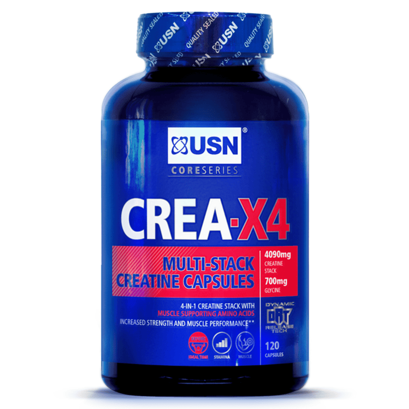 USN USN Creatine X4 120 Capsules Creatine The Good Life
