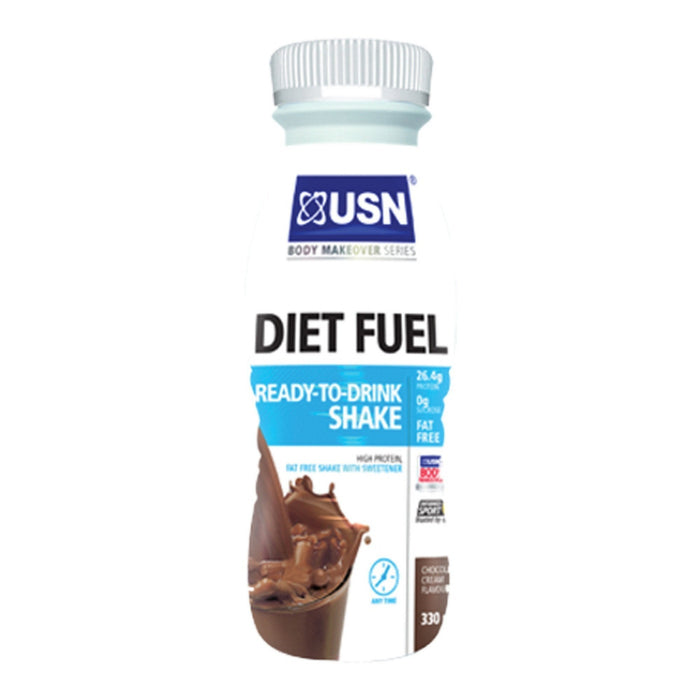 USN USN Diet Fuel RTD 8x330ml / Strawberry RTD The Good Life
