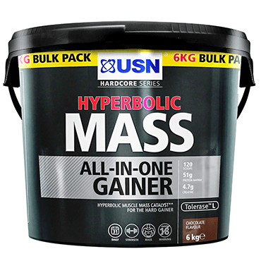 USN USN Hyperbolic Mass 6kg / Strawberry Mass Gainer The Good Life