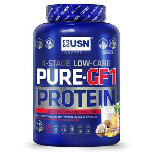 USN USN Pure Protein GF-1 2.28kg / Caramel Popcorn Whey Protein The Good Life