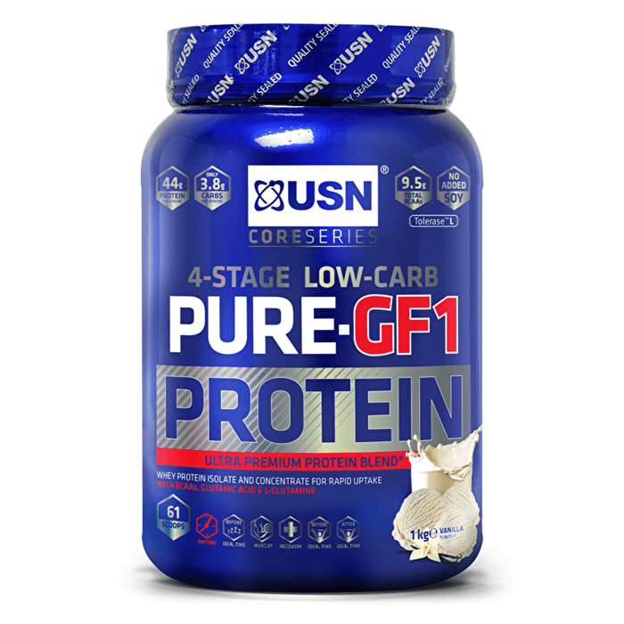 USN USN Pure Protein GF-1 Whey Protein The Good Life