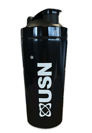 USN USN Stainless Steel Shaker 739ml / Black Shaker The Good Life
