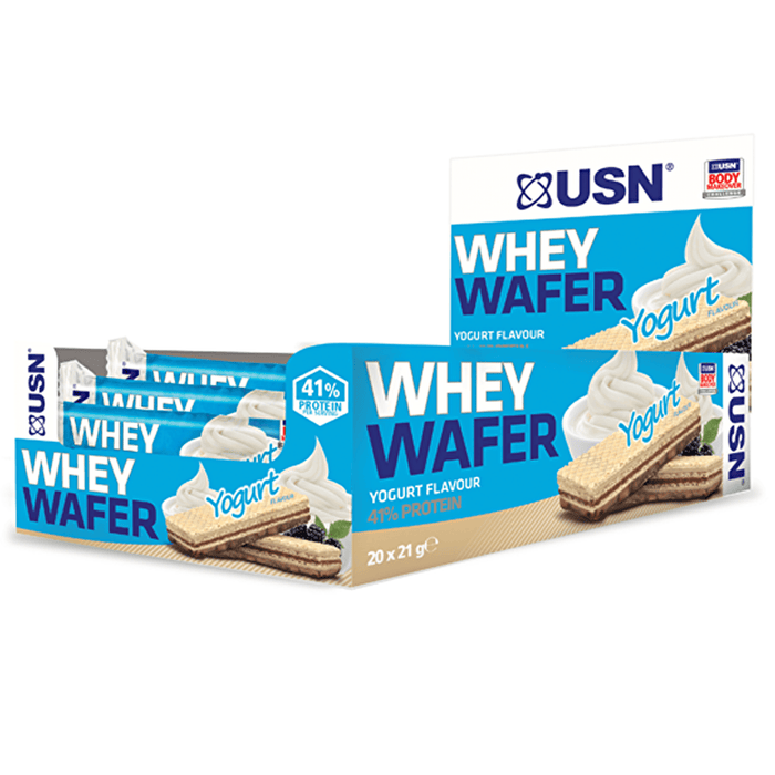 USN USN Whey Wafer 20x21g / Yoghurt Protein Bars The Good Life
