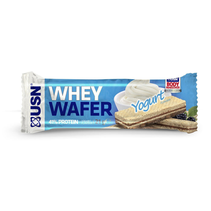 USN USN Whey Wafer 21g / Yoghurt Protein Bars The Good Life