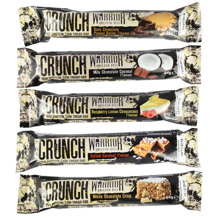 Warrior Crunch Protein Bar Mix & Match All Flavours