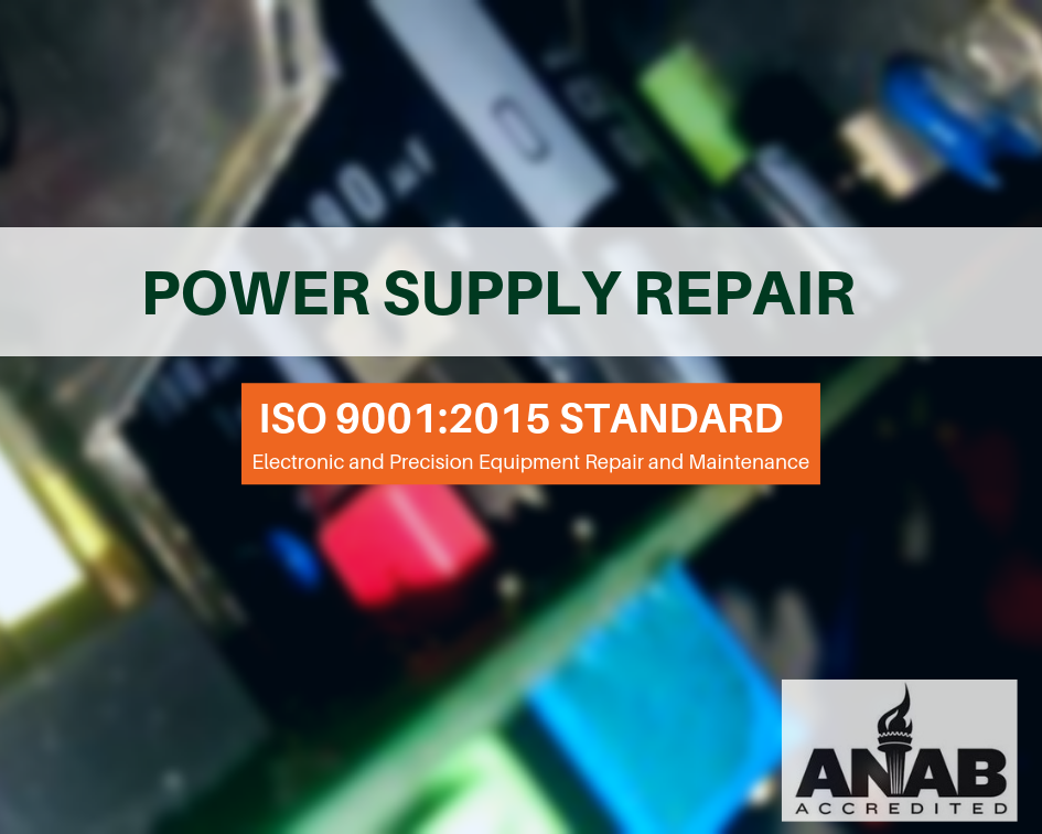TesCom Power Supply Equipment Repair