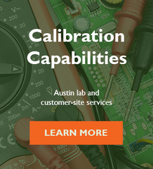 calibration capabilities