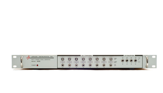 1685 Multi Carrier Signal Generator Configuration Page