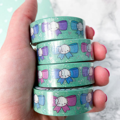 Holo Foil Bean Bows Washi Tape (15mm)