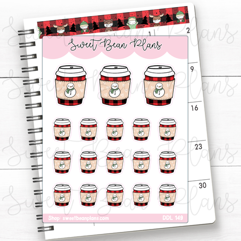 Pirate Snacks Doodle Planner Stickers | Ddl 149