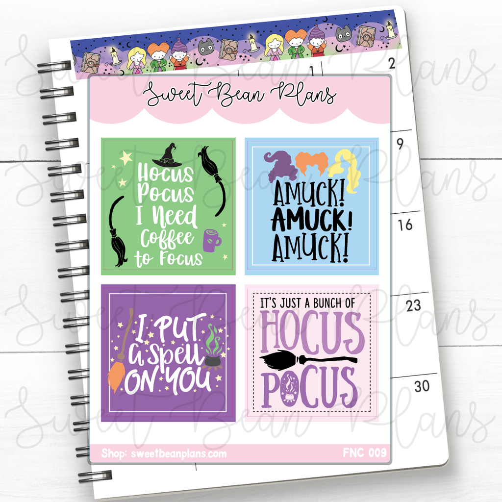 Princess Movies Lettering Planner Stickers | Fnc 009