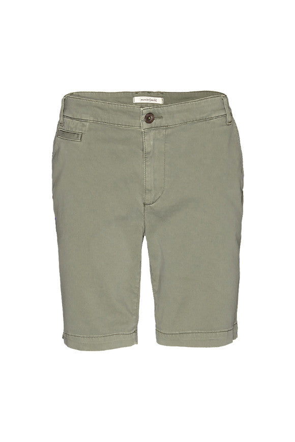 Mika short dark khaki from Charlie + Mary