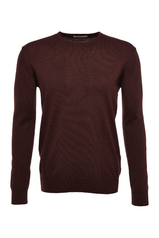 Core crewknit Black Wine