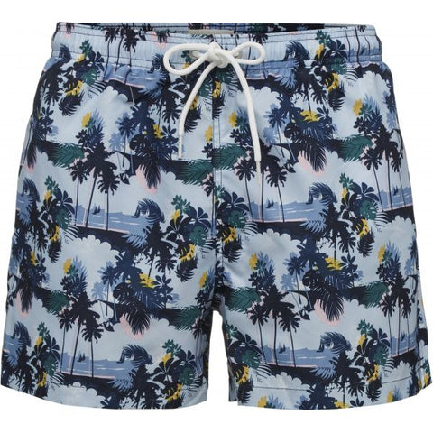 Palm printed swimshorts Skyway