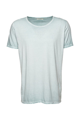 Wunderwerk Core tee male aqua mint