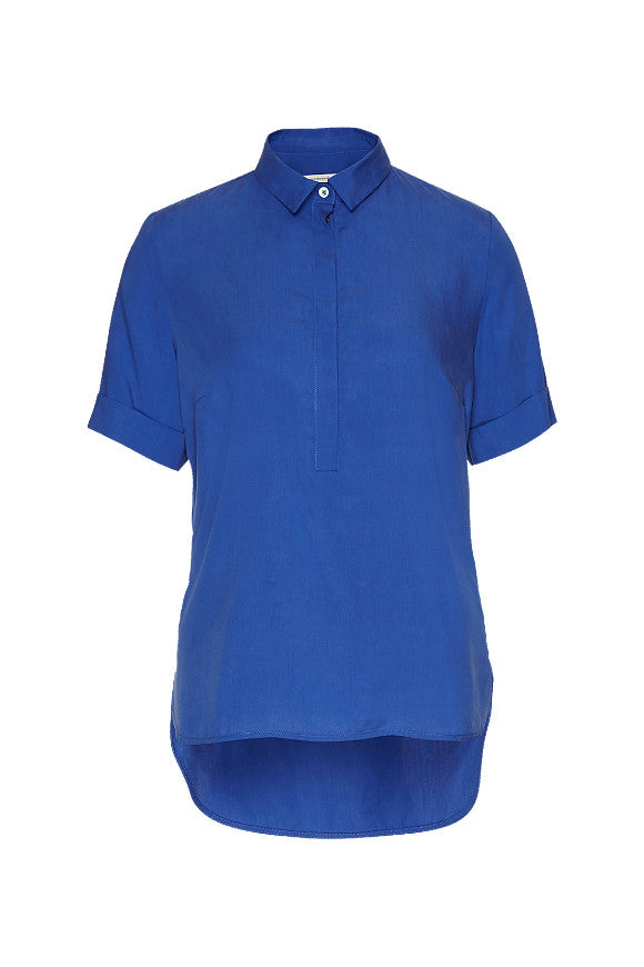 Wunderwerk Tencel shirt blouse 1/2 deep sea blue