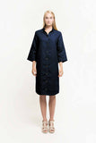 Blouse dress dark blue