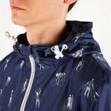 Dedicated windbreaker bike people navy