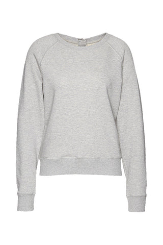 Wunderwerk Sweat crewneck silver grey