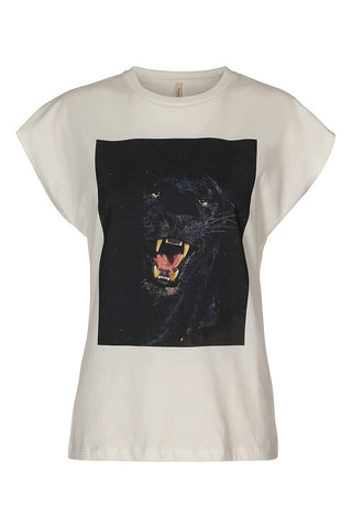 Panther T-shirt Off White