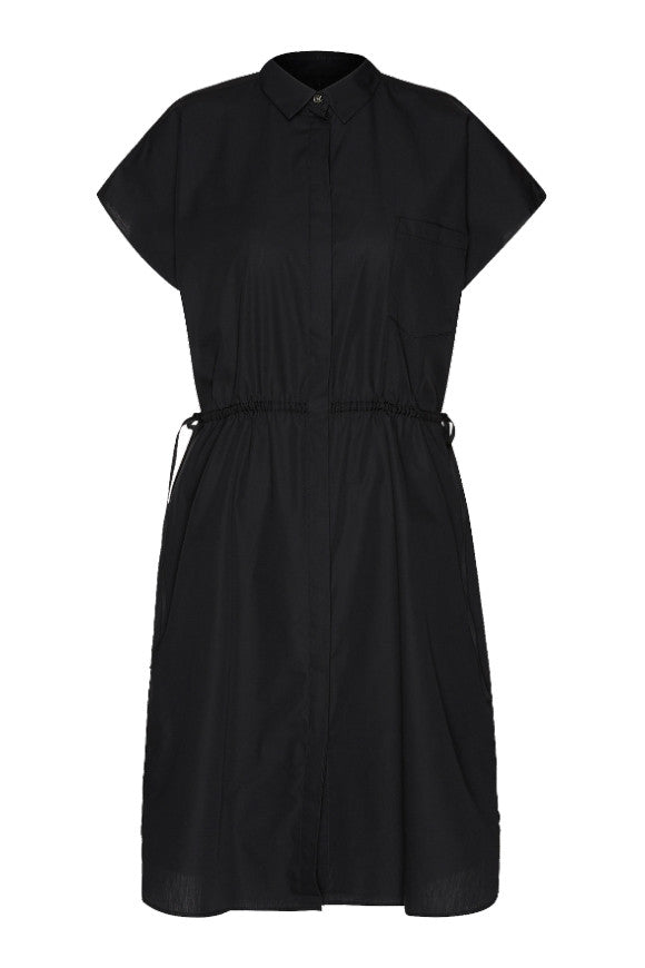 Poplin oversize dress Black from Charlie + Mary
