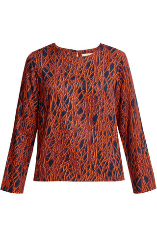 Emily top Tencel print