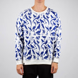 Malmoe sweatshirt blue birds Off White