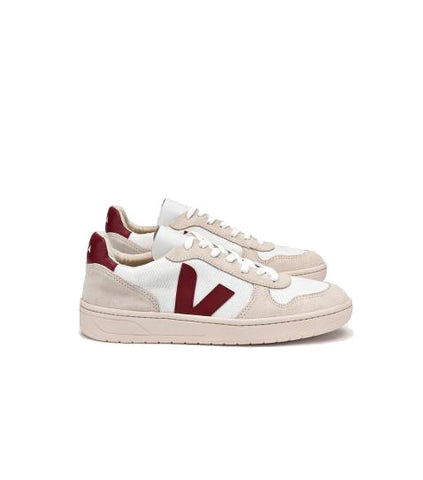 Veja Men's V-10 BMesh Sneaker Natural Marsala