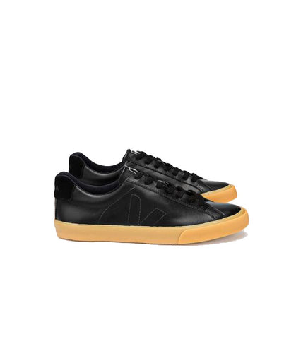 Veja Men's Esplar low leather sneaker black/natural