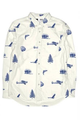 Shirt Wildlife off white