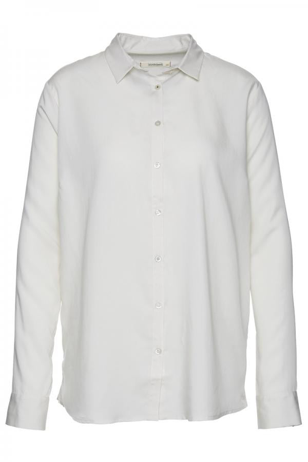 Wunderwerk Tencel contemporary blouse white