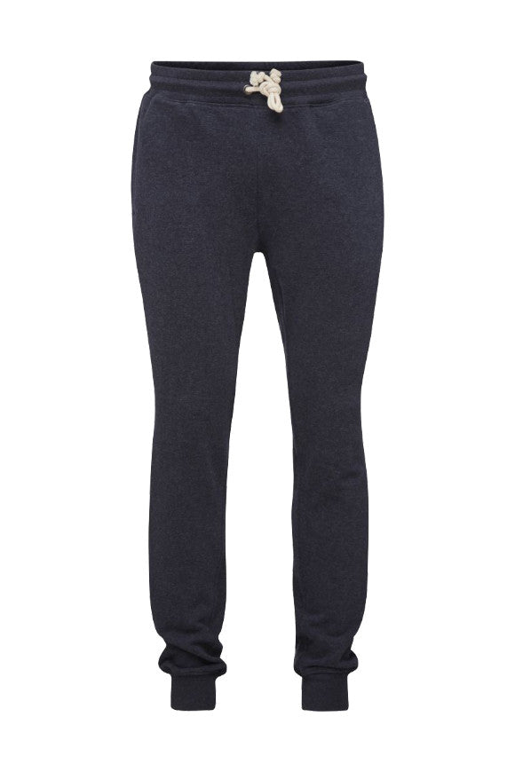 Basic Jog Yarns Knowledgecotton Pant Melange Mixed Total Apparel In p5x7qaOAw