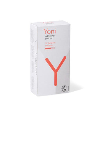 Yoni tampons medium biodegradable organic