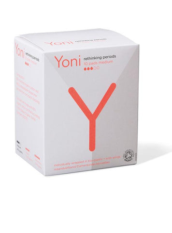 Yoni Pads medium organic cotton