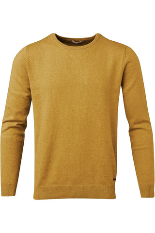 Basic O-neck Cotton/Cashmere Arronwood