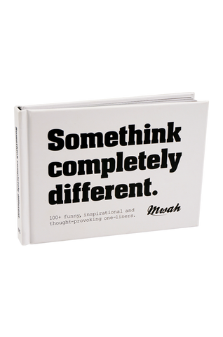 Mwah Somethink Completely Different book
