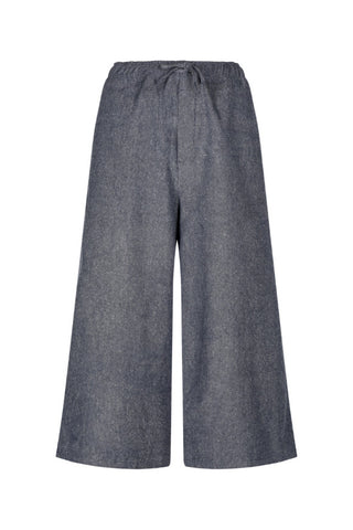 Rhumaa Merge culotte denim blue