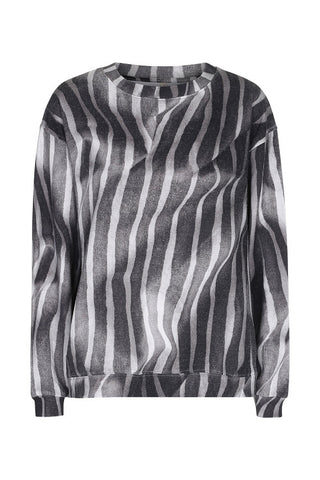 Dream team sweat Draped stripes digi print