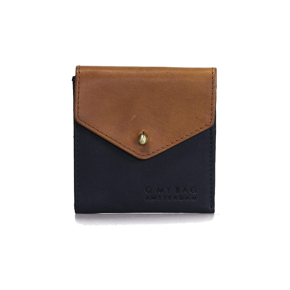 O My Bag Georgie's wallet camel/black eco leather