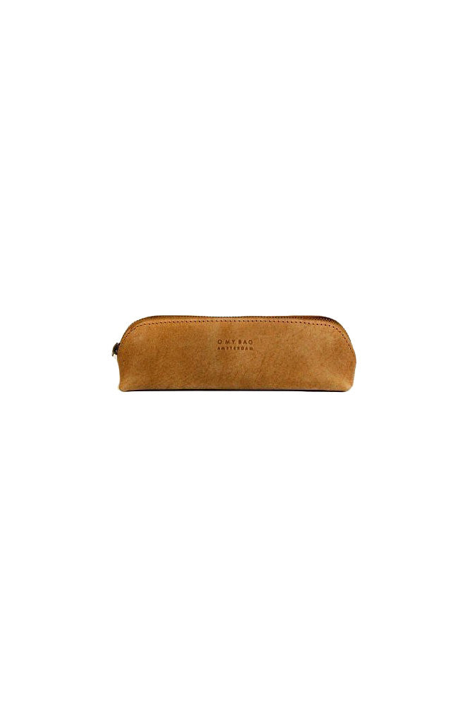 O My Bag Pencil case small camel eco leather